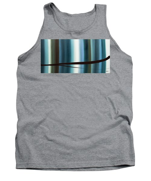 Tank Top featuring the painting Feeling Engaged by Carmen Guedez