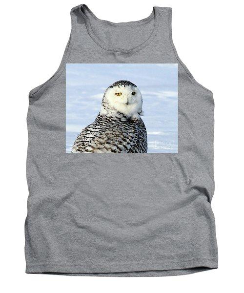 Female Snowy Owl Tank Top