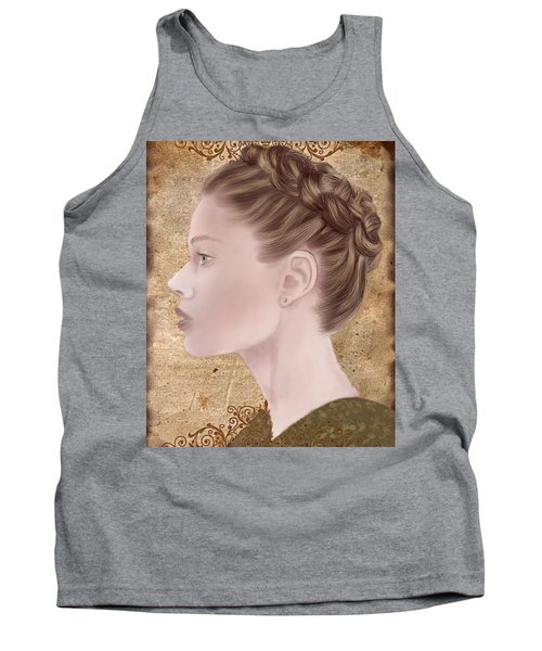 Femme Fatale Tank Top by Terry Honstead