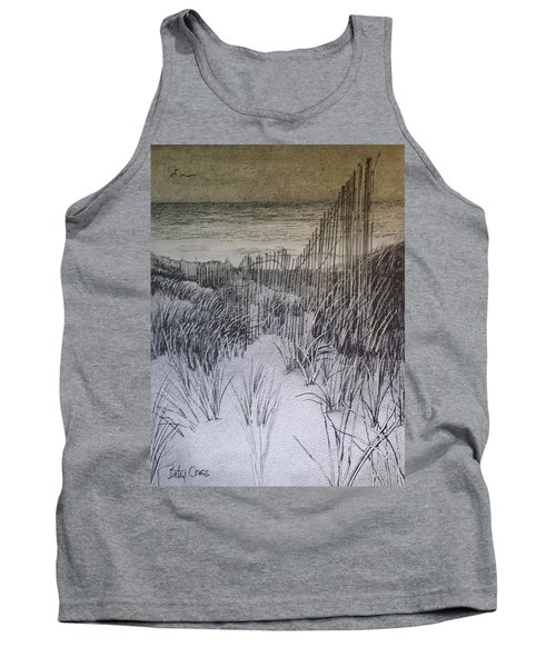Fence In The Dunes Tank Top