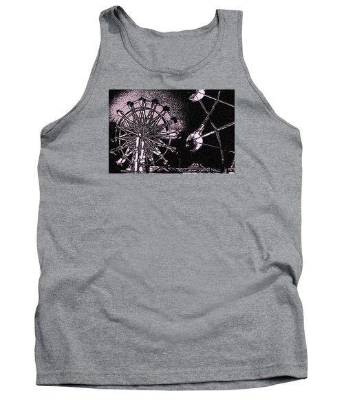 Tank Top featuring the photograph Ferris Wheel by Donna G Smith