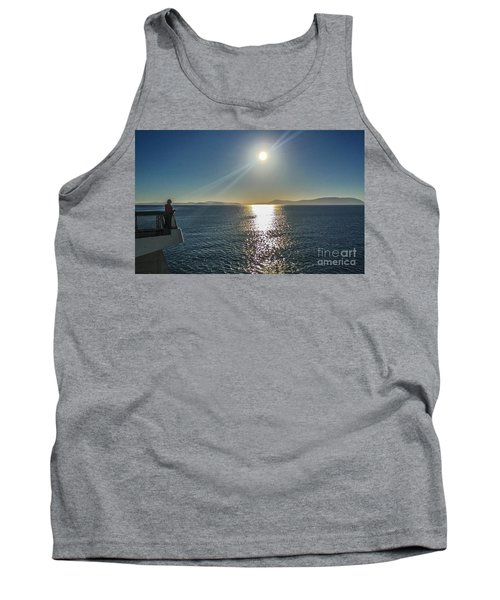 Tank Top featuring the photograph Ferry To The San Juan's by William Wyckoff