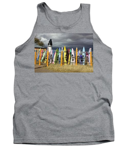 Festival Of The Crayons Tank Top