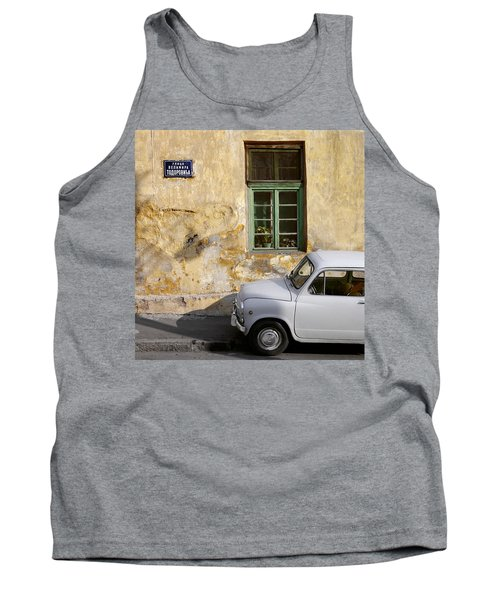 Fiat 600. Belgrade. Serbia Tank Top