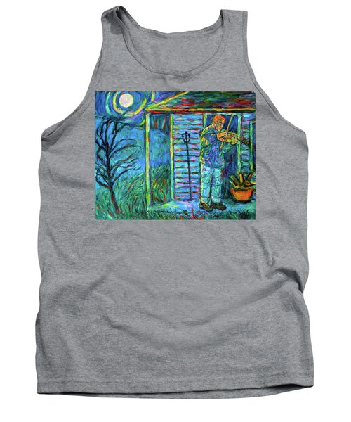 Fiddling At Midnight's Farm House Tank Top
