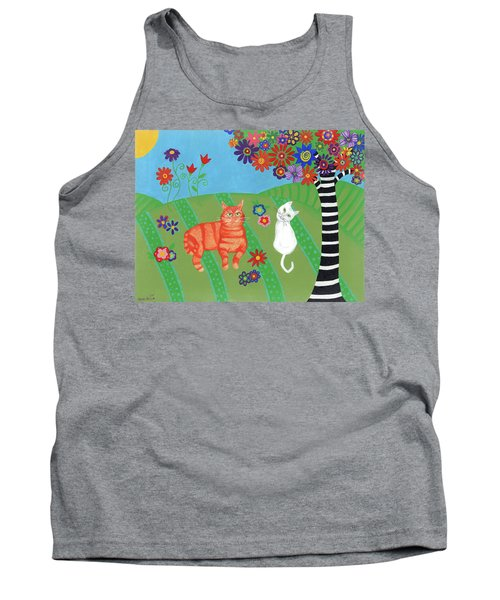 Field Of Cats And Dreams Tank Top