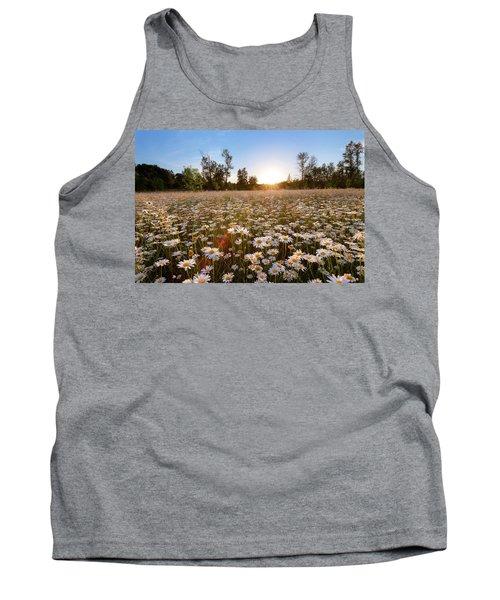 Field Of Daisies Tank Top