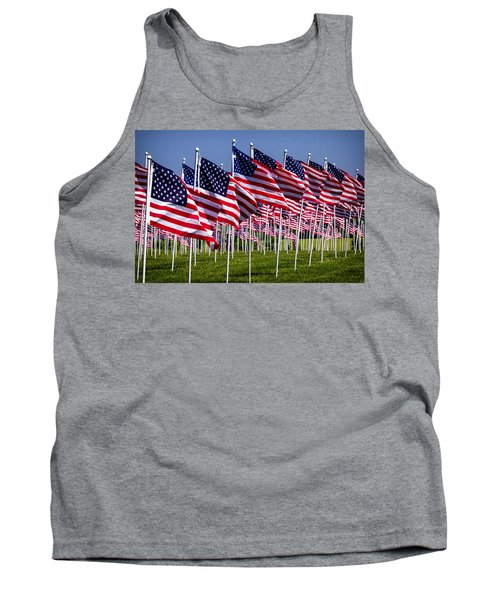 Field Of Flags For Heroes Tank Top