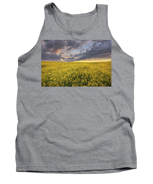 Tank Top featuring the photograph Field Of Gold by Dan Jurak
