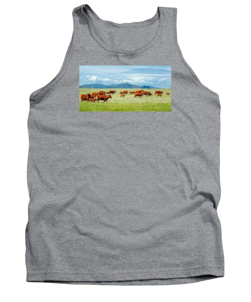 Field Of Reds Tank Top