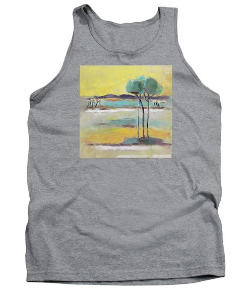 Standing In Distance Tank Top by Becky Kim