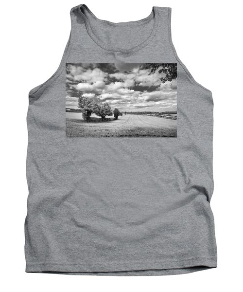 Fields And Clouds Tank Top