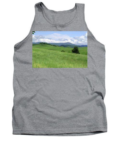 Fields And Hills  Tank Top by Emanuel Tanjala