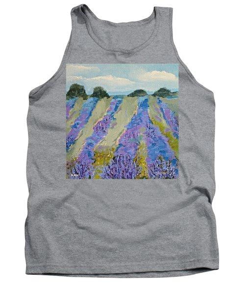 Fields Of Lavender Tank Top