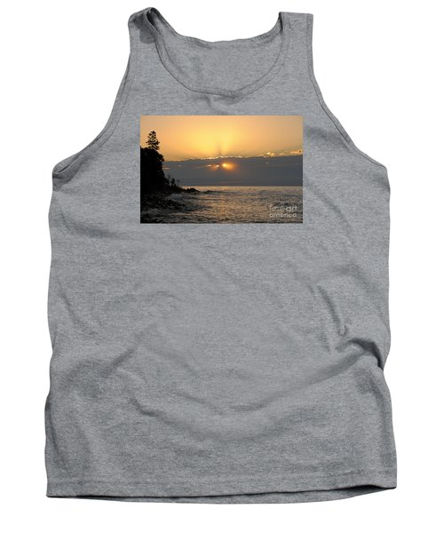 Tank Top featuring the photograph Fiery Eyes by Sandra Updyke