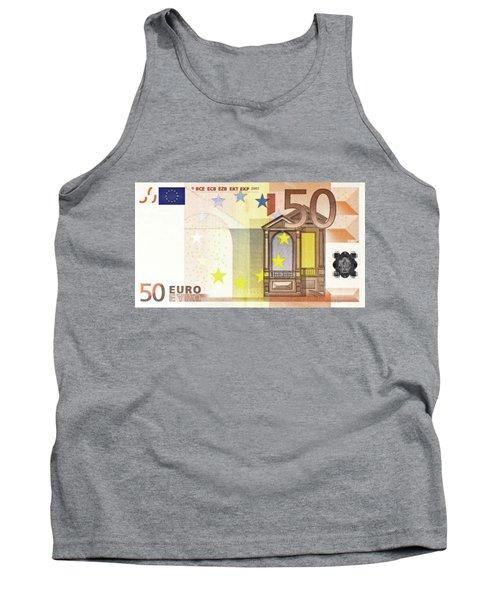 Fifty Euro Bill Tank Top