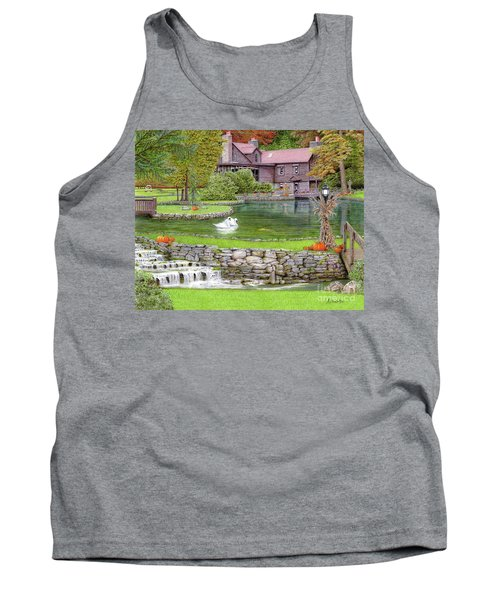 Fin N Feather At Seven Springs Tank Top by Albert Puskaric