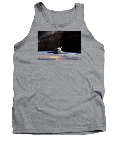 Final Frontier Tank Top by Peter Chilelli