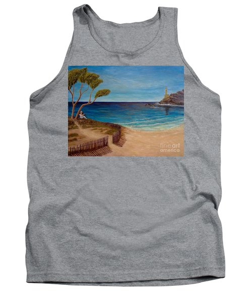 Finding My Special Place In The Summertime  Tank Top by Kimberlee Baxter