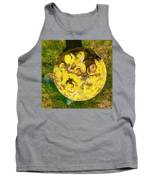 Fire Hydrant #1 Tank Top by Suzanne Lorenz
