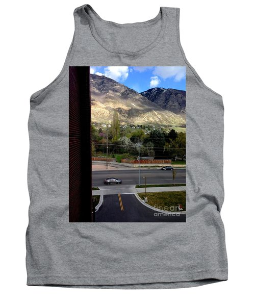 Fire Hydrant Guarding The Byu Y Tank Top