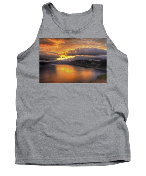 Fire In The Lake #1 Tank Top