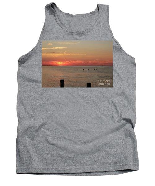 Fire Island Sunset Tank Top