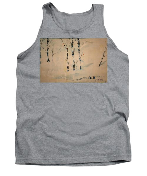 First Snow Central Park Tank Top