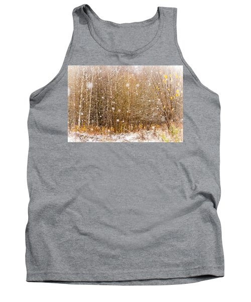 First Snow. Snow Flakes I Tank Top