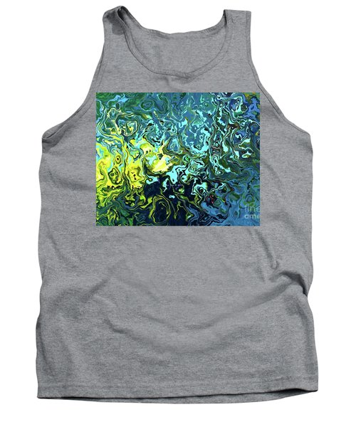 Fish Abstract Art Tank Top