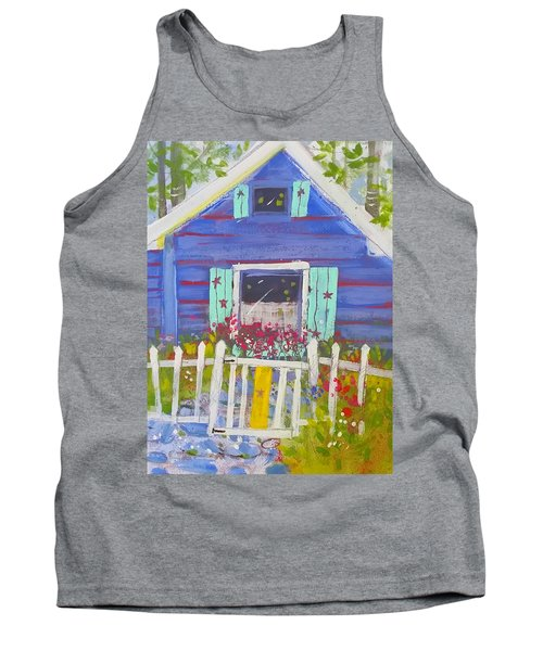 Fish Camp Cottage Tank Top