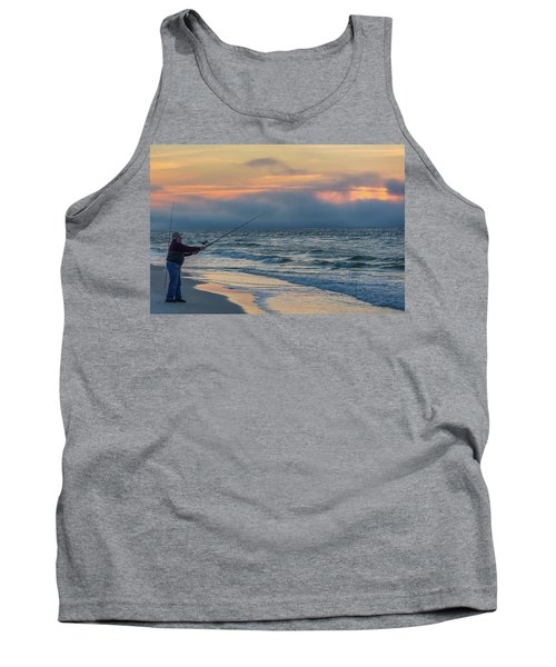 Tank Top featuring the photograph Fish On In Alabama  by John McGraw