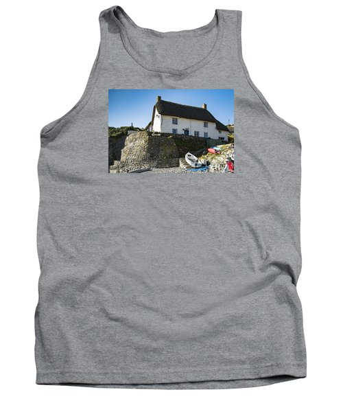 Tank Top featuring the photograph Fishermans Cottage by Brian Roscorla