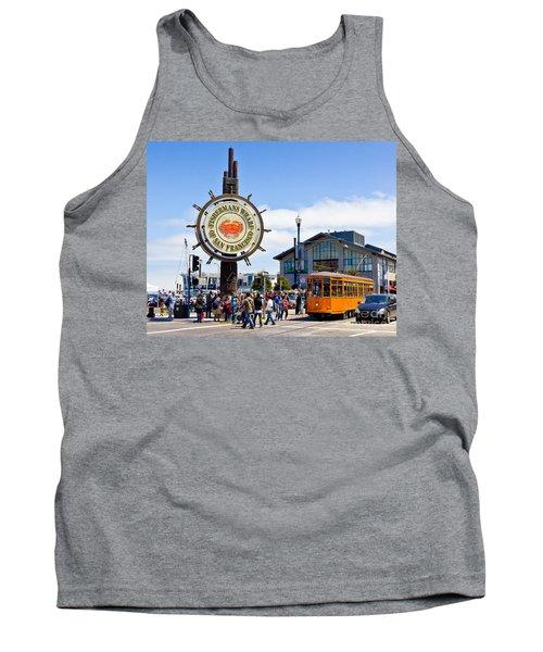 Fishermans Wharf - San Francisco Tank Top