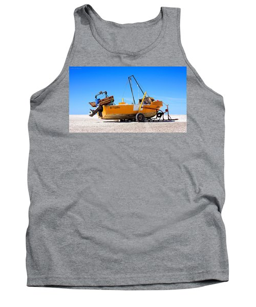 Tank Top featuring the photograph Fishing Boat by Silvia Bruno