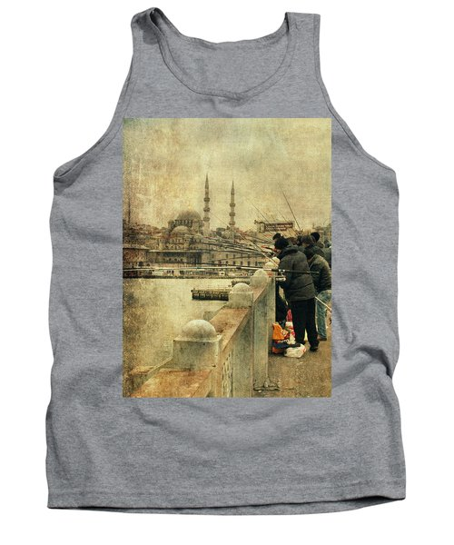 Fishing On The Bosphorus Tank Top