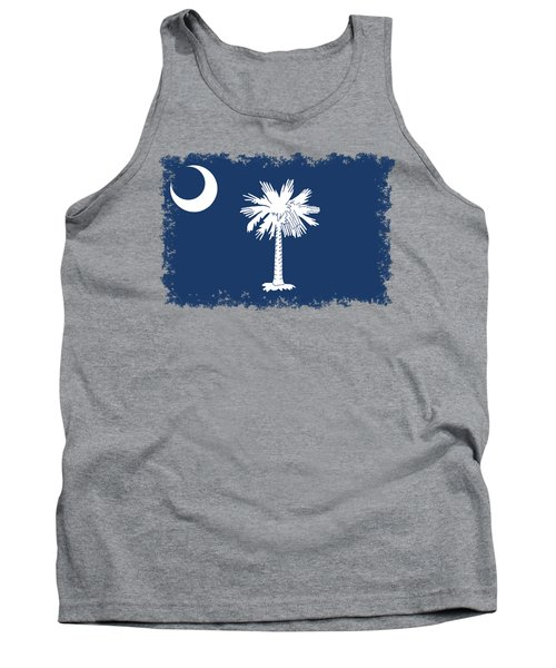 Flag Of South Carolina Authentic Version Tank Top by Bruce Stanfield