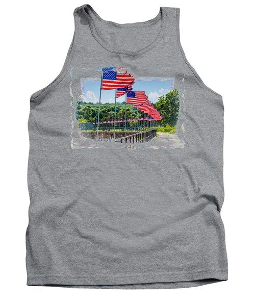 Flag Walk Tank Top