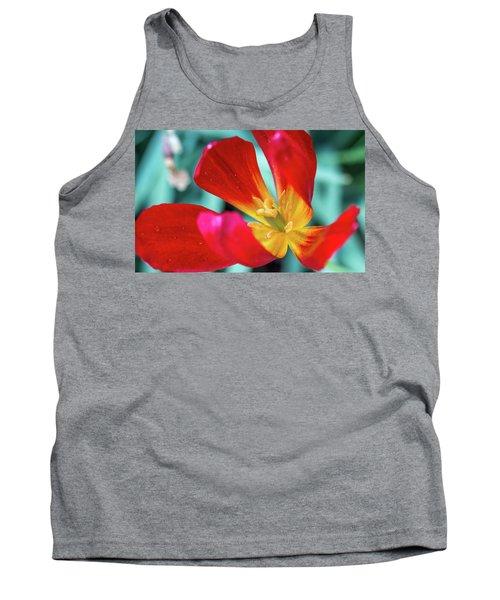 Flaming Tulip Tank Top
