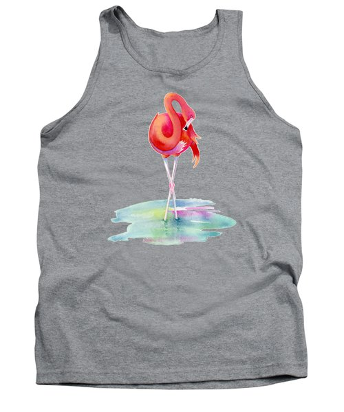 Flamingo Primp Tank Top