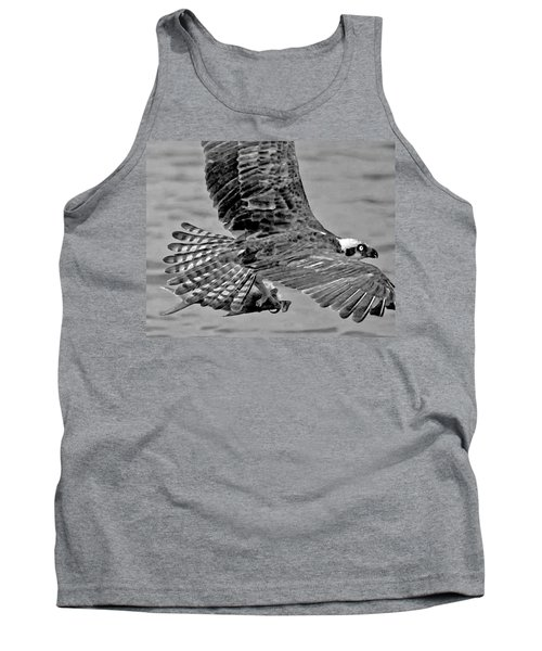 Flight Of The Osprey Bw Tank Top