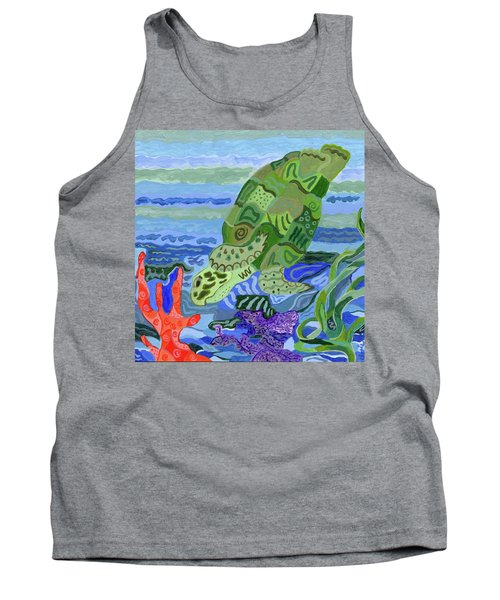 Flip The Sea Turtle Tank Top