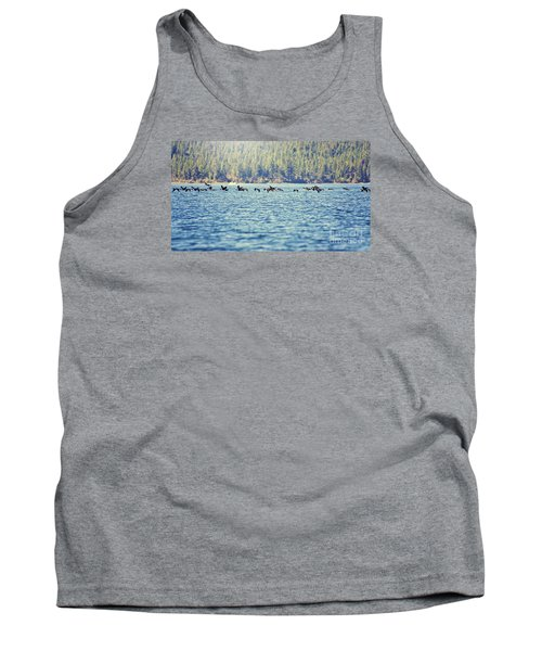 Flock Of Geese Tank Top