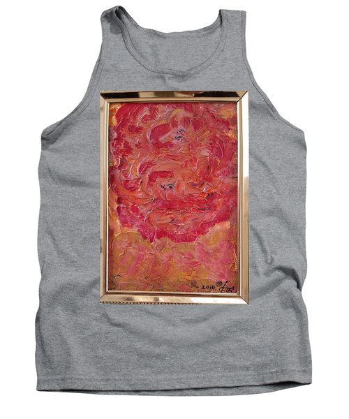 Floral Abstract 1 Tank Top