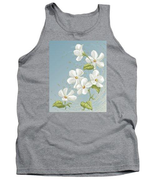 Floral Whorl Tank Top