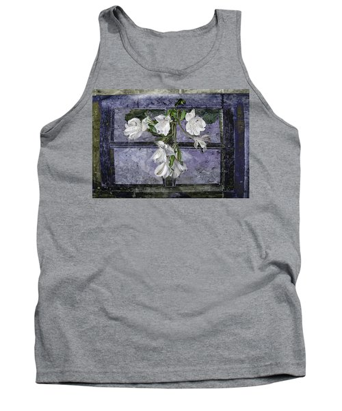 Tank Top featuring the photograph Floral Window Frame by Bonnie Willis
