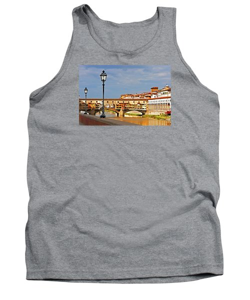 Florence Arno River View Tank Top