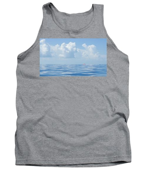 Florida Keys Clouds And Ocean Tank Top