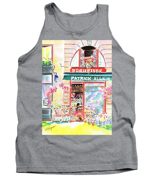 Florist In Ile St.louis Tank Top