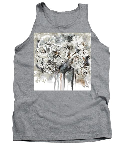 Floral Anxiety  Tank Top